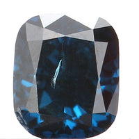 Natural Loose Diamond Cushion Blue Color SI2 Clarity 3.10 MM 0.16 Ct L5802