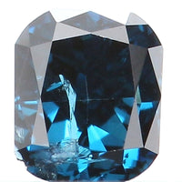 Natural Loose Diamond Cushion Blue Color SI2 Clarity 3.00 MM 0.13 Ct KR963