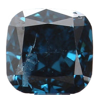 Natural Loose Diamond Cushion Blue Color I1 Clarity 3.00 MM 0.15 Ct KR985