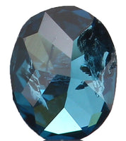 Natural Loose Diamond Oval Blue Color I1 Clarity 3.20 MM 0.11 Ct L5911