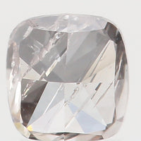 Natural Loose Diamond Cushion Brown Color I1 Clarity 3.00 MM 0.17 Ct KR987