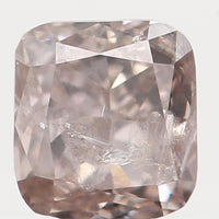 Natural Loose Diamond Cushion Brown Color I2 Clarity 3.00 MM 0.16 Ct L5956