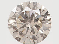 Natural Loose Diamond Round Brown Color I1 Clarity 2.80 MM 0.08 Ct L5885