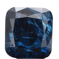 Natural Loose Diamond Cushion Blue Color I1 Clarity 3.20 MM 0.22 Ct KR978