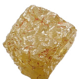 Natural Loose Diamond Rough Yellow Color I3 Clarity 5.00 MM 1.36 Ct KR707