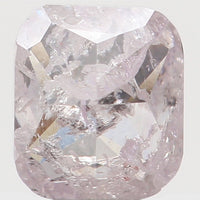 Natural Loose Diamond Cushion Pink Color I3 Clarity 3.70 MM 0.28 Ct L5476