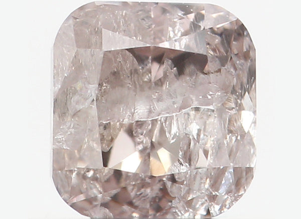 Natural Loose Diamond Cushion Brown Color I1 Clarity 3.60 MM 0.32 Ct KR907