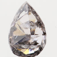 Natural Loose Diamond Pear Grey Color I2 Clarity 5.90 MM 0.39 Ct KR861