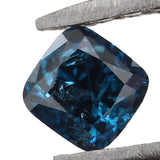 Natural Loose Diamond Cushion Blue Color I3 Clarity 2.90 MM 0.16 Ct KR186