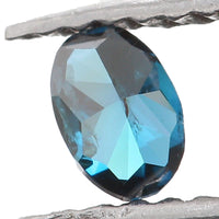 Natural Loose Diamond Oval Blue Color I1 Clarity 3.50 MM 0.12 Ct KR1186
