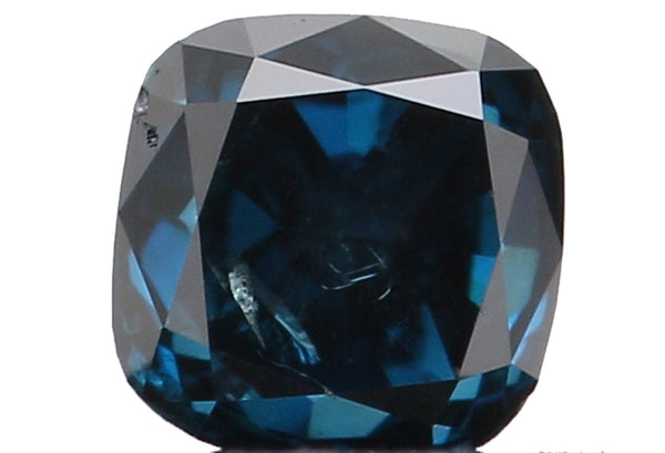 Natural Loose Diamond Cushion Blue Color SI2 Clarity 2.80 MM 0.17 Ct KR1082
