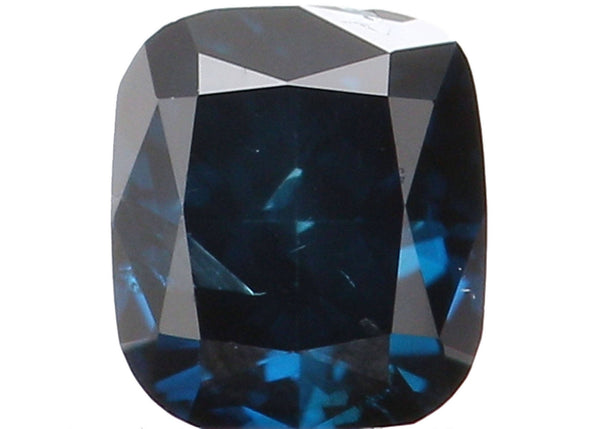 Natural Loose Diamond Cushion Blue Color SI2 Clarity 3.10 MM 0.15 Ct KR979