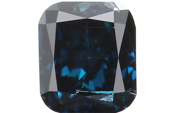 Natural Loose Diamond Cushion Blue Color SI2 Clarity 3.10 MM 0.16 Ct L5799