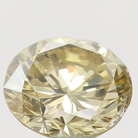 Natural Loose Diamond Round Yellow Color SI1 Clarity 3.10 MM 0.11 Ct L5942