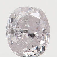 Natural Loose Diamond Oval Light Pink Color I3 Clarity 2.63 MM 0.086 Ct L4352