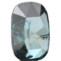 Natural Loose Diamond Oval Blue Color SI2 Clarity 5.14 MM 0.26 Ct KR1309