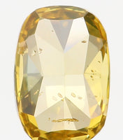 Natural Loose Diamond Cushion Coffee Color SI2 Clarity 5.70 MM 0.44 Ct L6439