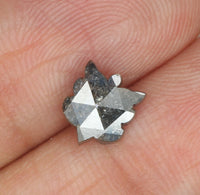 Natural Loose Diamond Butterfly Grey Color I3 Clarity 7.10 MM 1.06 Ct KR1181