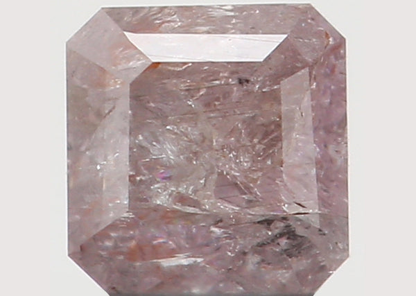 Natural Loose Diamond Radiant Pink Color I3 Clarity 2.90 MM 0.18 Ct L6160