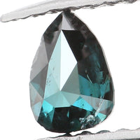 Natural Loose Diamond Pear Blue Color I1 Clarity 4.20 MM 0.18 Ct KR1201