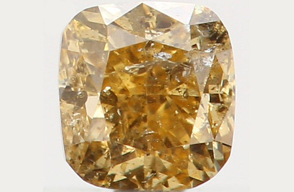 Natural Loose Diamond Cushion Yellow Color I1 Clarity 2.80 MM 0.14 Ct L5522