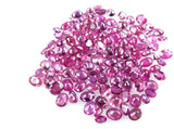 RUBY Purplish Pink  Colour Oval shape Gemstone LOT-22.45 CT 134 Pieces