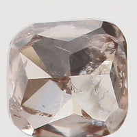 Natural Loose Diamond Cushion Brown Color I2 Clarity 2.70 MM 0.14 Ct L5738