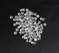 Natural Loose Diamond Brilliant Round G H White Color I1 I3 Clarity 1.25 to 1.55 MM 100% REAL 25 PCS Q06
