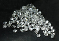 Natural Loose Round Diamond G H White Color I1 I3 Clarity 100 Pcs Lot 0.70 To 0.80 MM Size Q02