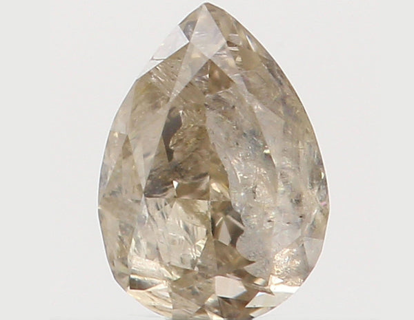 Natural Loose Diamond Pear J Color I3 Clarity 3.70 MM 0.14 Ct L5406