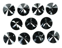 1 Carat Natural Loose Diamond Round Black Color I3 Clarity 1 Pcs Q48