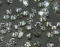 Natural Loose Diamond Round G H White Color SI1 Clarity 6 Pcs 1.80 to 2.00 MM Q20