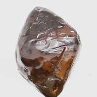 Natural Loose Diamond Crystal Rough Brown Color I1 Clarity 7.00 MM 2.51 Ct L6305