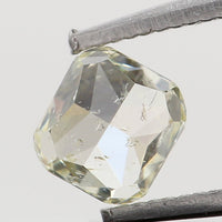 Natural Loose Diamond Cushion Yellow Color SI1 Clarity 3.10 MM 0.17 Ct KR1429