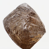 Natural Loose Diamond Crystal Rough Brown Color I1 Clarity 6.50 MM 2.06 Ct L6287