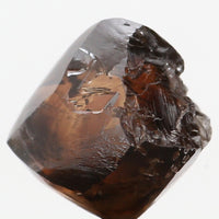 Natural Loose Diamond Crystal Rough Brown Color I1 Clarity 6.80 MM 2.56 Ct L6307