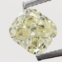 Natural Loose Diamond Cushion Yellow Color SI1 Clarity 3.30 MM 0.17 Ct L6465