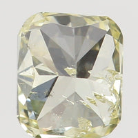 Natural Loose Diamond Cushion Yellow Color SI1 Clarity 3.00 MM 0.11 Ct L6532