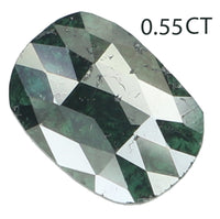 Natural Loose Diamond Oval Blue Color I3 Clarity 6.80 MM 0.55 Ct KR1660