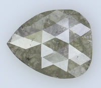 Natural Loose Diamond Pear Grey Color I3 Clarity 7.50 MM 0.83 Ct L6933