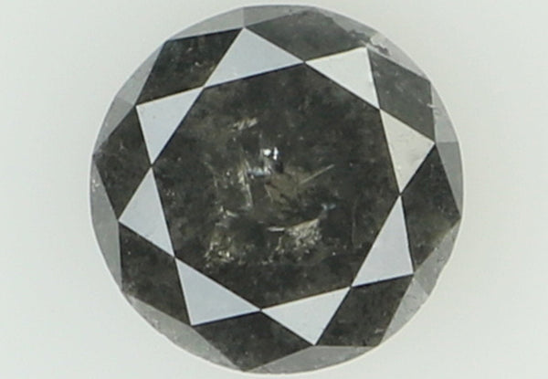 Natural Loose Diamond Round Black Color I3 Clarity 5.50 MM 0.65 Ct L7043