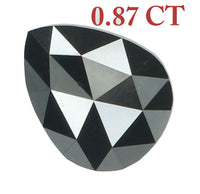 Natural Loose Diamond Pear Black Color I3 Clarity 7.10 MM 0.87 Ct L6775