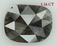 Natural Loose Diamond Oval Grey Color I3 Clarity 8.30 MM 1.16 Ct KR1728