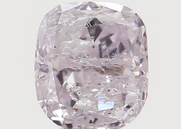 Natural Loose Diamond Cushion Pink Color I3 Clarity 3.30 MM 0.16 Ct L6893