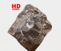 Natural Loose Diamond Rough Brown Color I3 Clarity 5.50 MM 1.19 Ct L7212