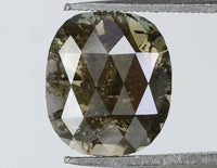 Natural Loose Diamond Oval Black Brown Color I3 Clarity 8.00 MM 1.32 Ct L7338