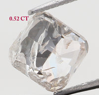 Natural Loose Diamond Cushion H Color I2 Clarity 4.50 MM 0.52 Ct KR1809