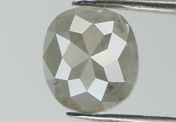 Natural Loose Diamond Cushion Grey Color I3 Clarity 4.60 MM 0.52 Ct L5087
