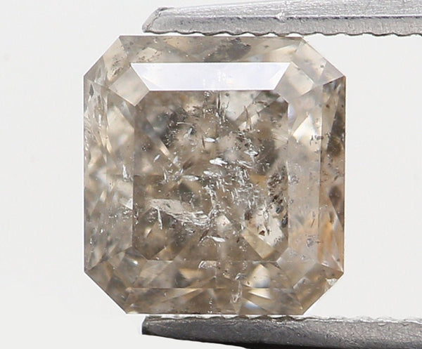 Natural Loose Diamond Radiant I Color I1 Clarity 4.10 MM 0.47 Ct KR1833