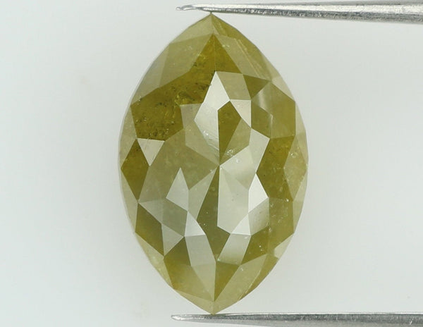 3.06 Ct Natural Loose Diamond Marquise Yellow Color I3 Clarity 11.60 MM L6773